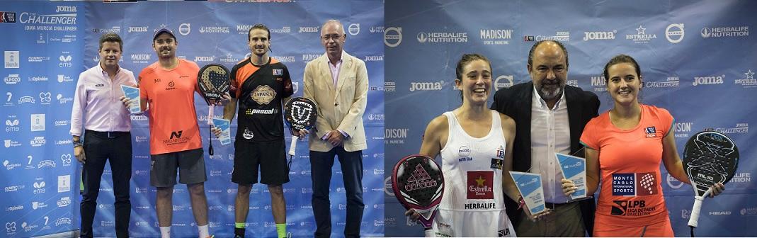 JOMA, patrocinador oficial de los Torneos Challenger