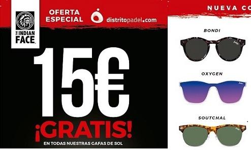 f22b86ee7aa80 15€ gratis en todas las gafas de sol The Indian Face