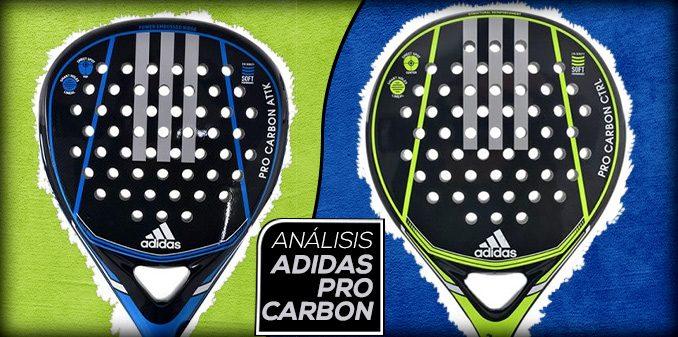 Tormenta equilibrio entrada  Review: Nuevas palas Adidas Pro Carbon Ctrl y Attack - Distritopadel.com
